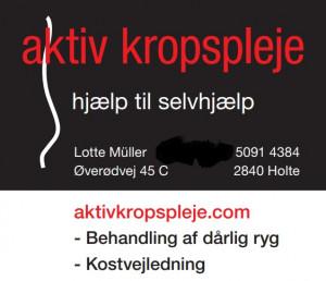 Book Aktiv Kropspleje